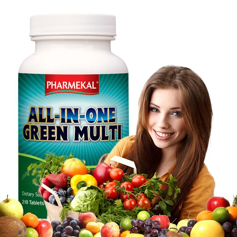 ALL-IN-ONE GREEN MULTI-VITAMIN