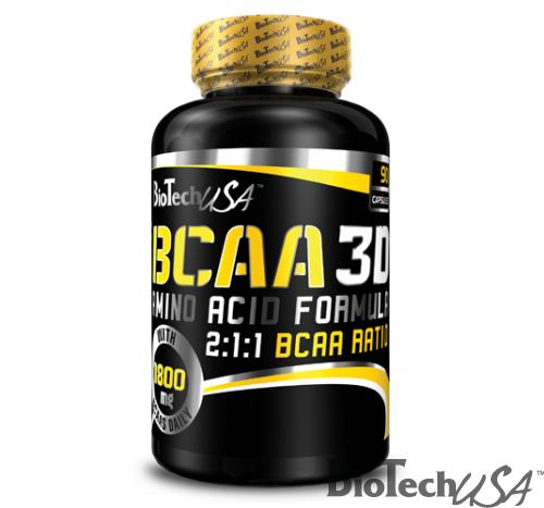 BCAA 3D. 90 kapszula