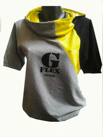 Gflex női kapucnis felső
