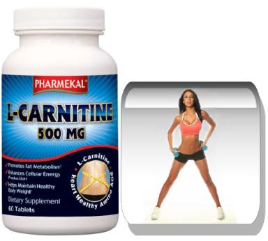 L-Carnitine 500mg. 60 tabletta