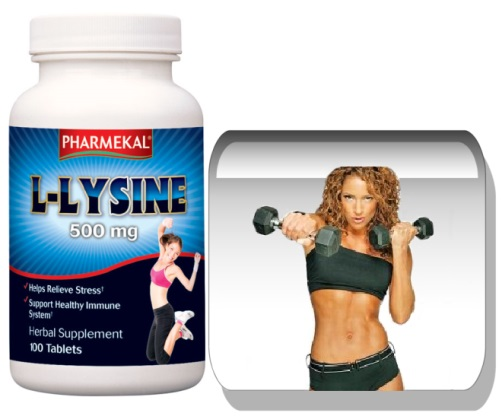 L-Lysine 500 mg 100 db