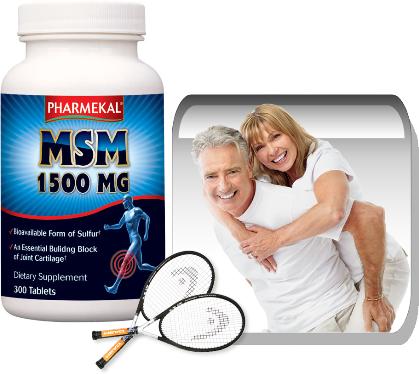 MSM 1500 mg 300 db (Családi kiszerelés)