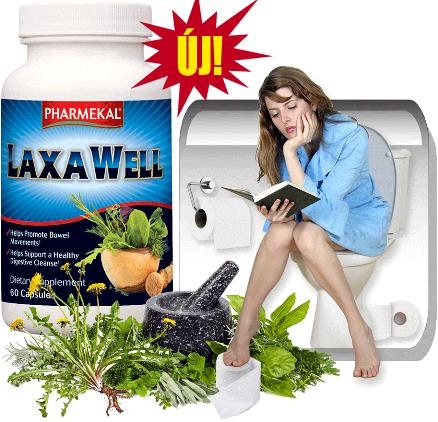Pharmekal LaxaWell - Gyógynövény komplex 60 db