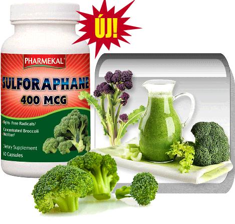 Szulforafán - Brokkoli kivonat 400 mcg 60 db