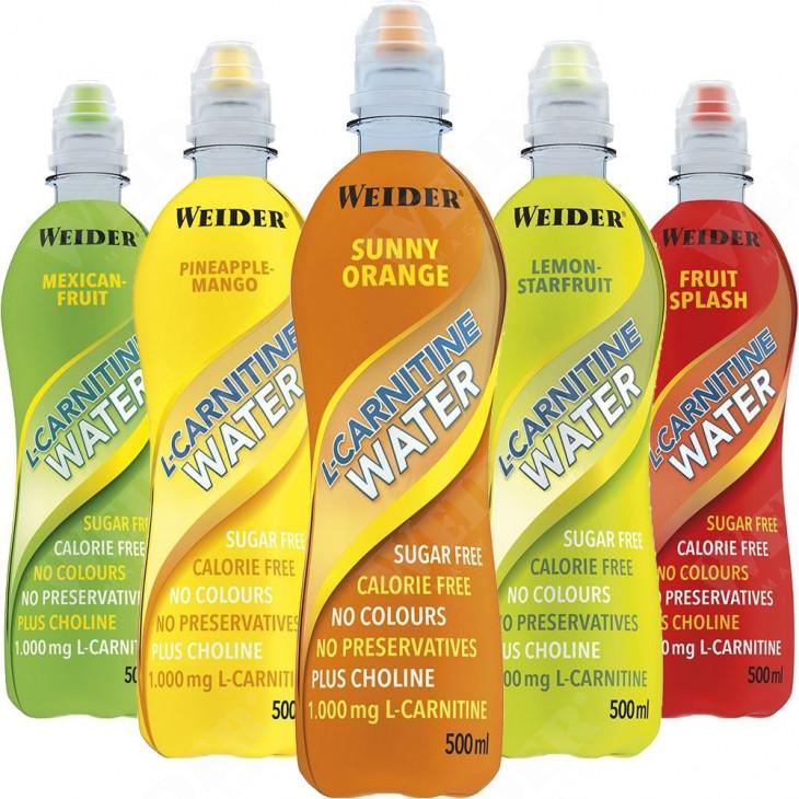 L-Carnitine Water 500 ml zsírégető ital