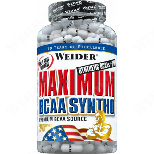 Maximum BCAA Syntho 240 kapszula aminosav.