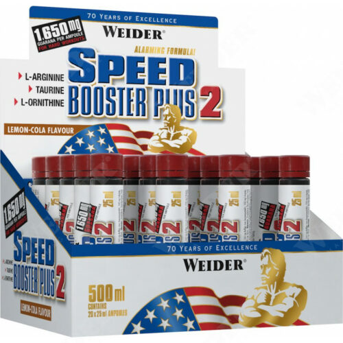 Speed Booster Plus2 500 ml energiafokozó.