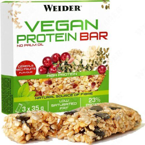 Weider Vegan Protein Bar 3x35 g