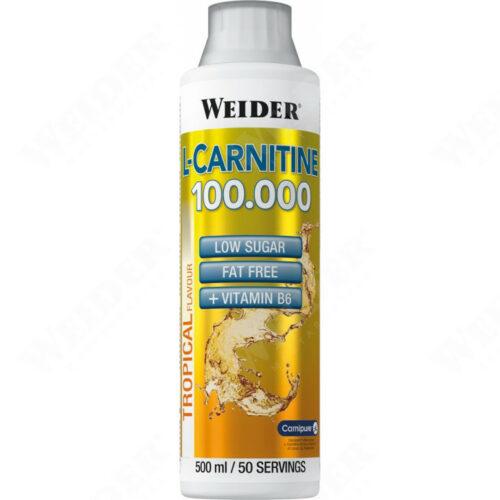 L-Carnitine 100000 fogyasztást segítő koncentrátum - TOZOSHOP.HU