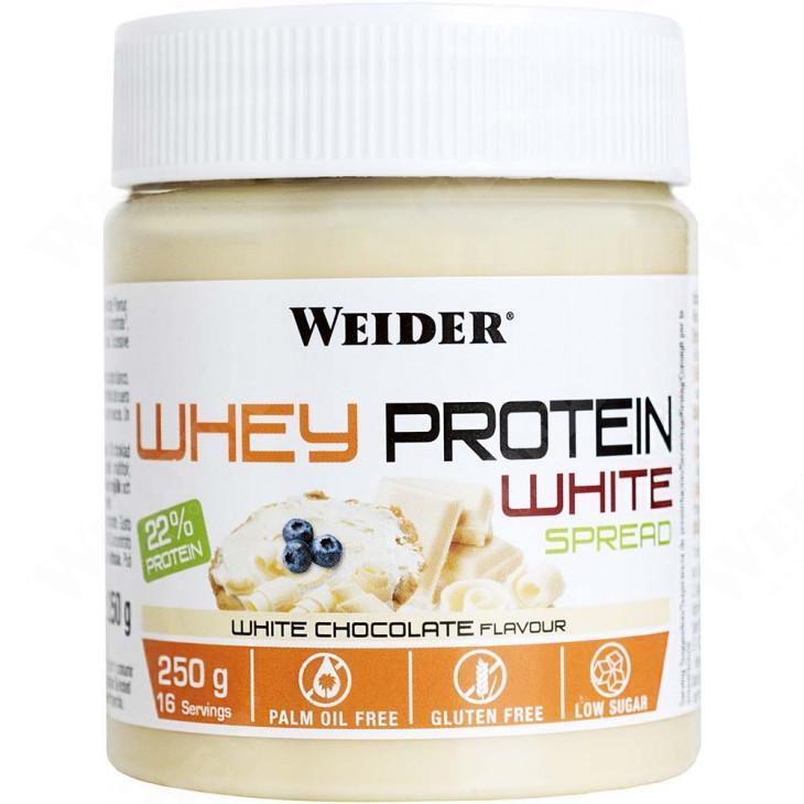 Protein White Spread 250 g fehérjepor - fehércsokoládé.