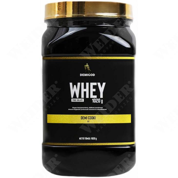 DemiGod Whey Pure Isolate fehérjepor