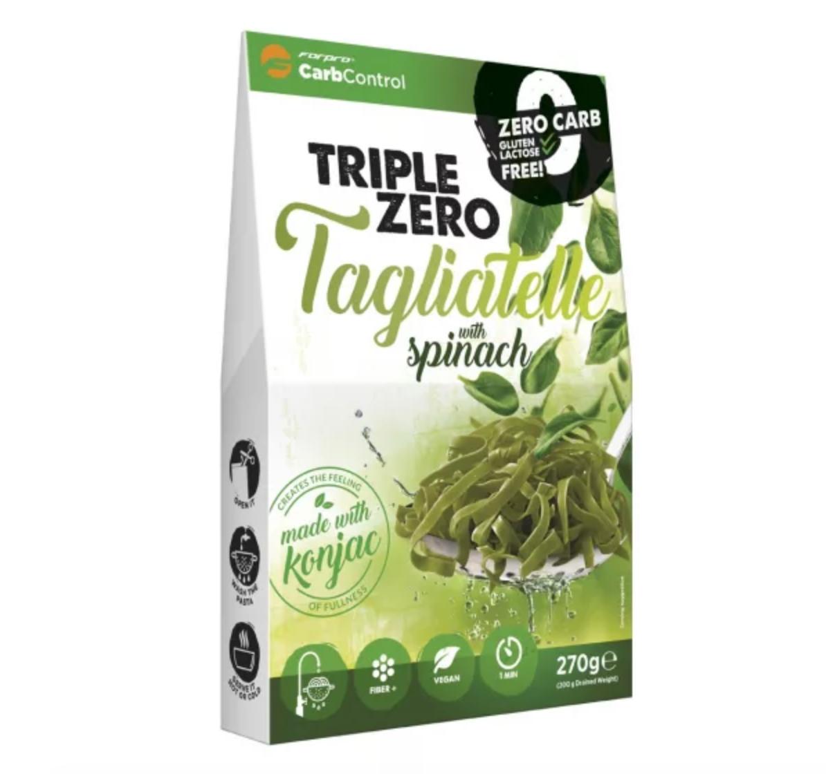 TRIPLE ZERO PASTA - TAGLIATELLE SPINACH