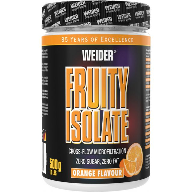 Weider Fruity Isolate 500 g fehérjepor